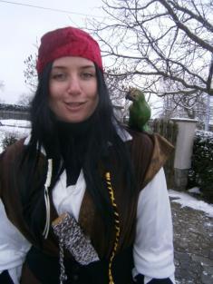 hezký papoušek